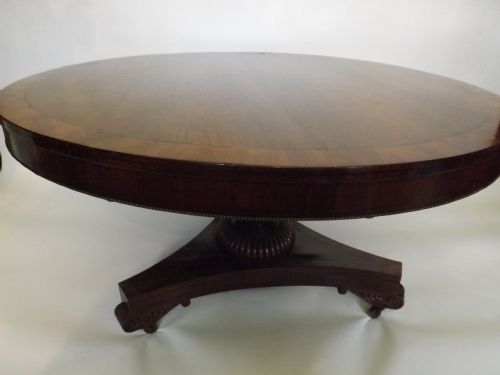 c19th regency rosewood centre table